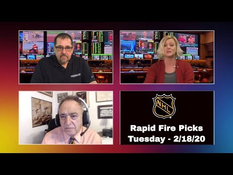 NHL Rapid Fire Betting Picks & Predictions - Tuesday 2/18/20 l Bookie Blasters