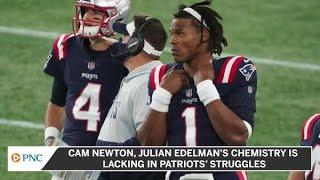 Cam Newton, Julian Edelman's Chemistry Is Lacking In Patriots' Struggles