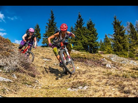 Mountainbike Tour Kufstein Nachbergalm Tiroler Unterland Trail Downhill MTB