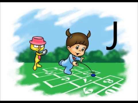 Cantando jugando y aprendiendo el abecedario youtube for Aprendiendo y jugando jardin infantil