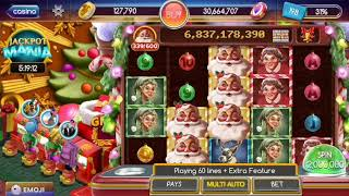 Pop! Slots, Santa's Jackpot Run Bonus ~Angel DEliott~