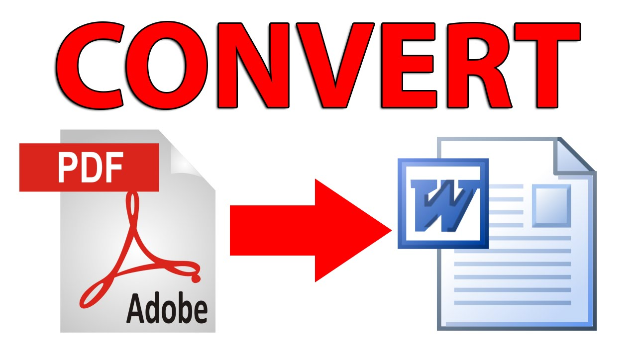 Image result for Convert PDF file to Word