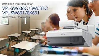 видео Видеопроектор Sony VPL-SW631