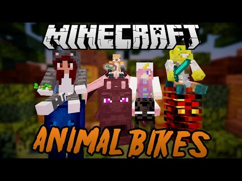 Halloween Animal Bikes Racing with Friends!