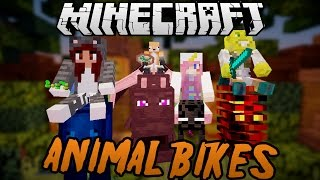 Halloween Animal Bikes Racing with Friends!