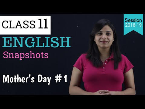 mothers day english class 11 | part - 1