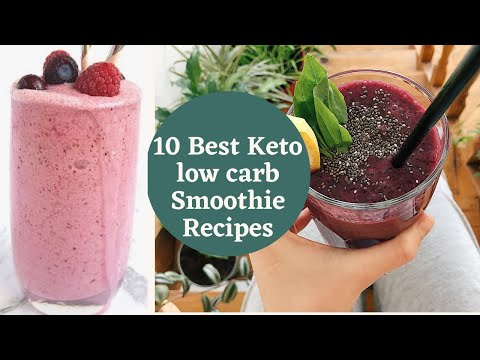 10-best-keto-low-carb-smoothie-recipes