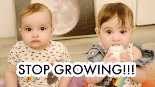 OUR TWIN GIRLS ARE 9 MONTHS OLD!  /// McHusbands
