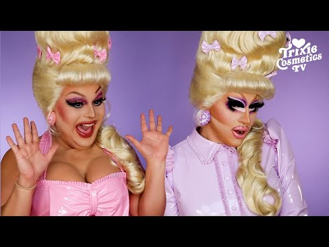 Kiki with Jaymes Mansfield using the Bottle Blonde collection! - Trixie Mattel