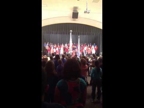 Washington Woods Elementary School 3rd Grade Veterans Day P