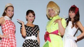 モデルのダレノガレ明美さんとがタレントで振付師のKABA.ちゃんが8月6...