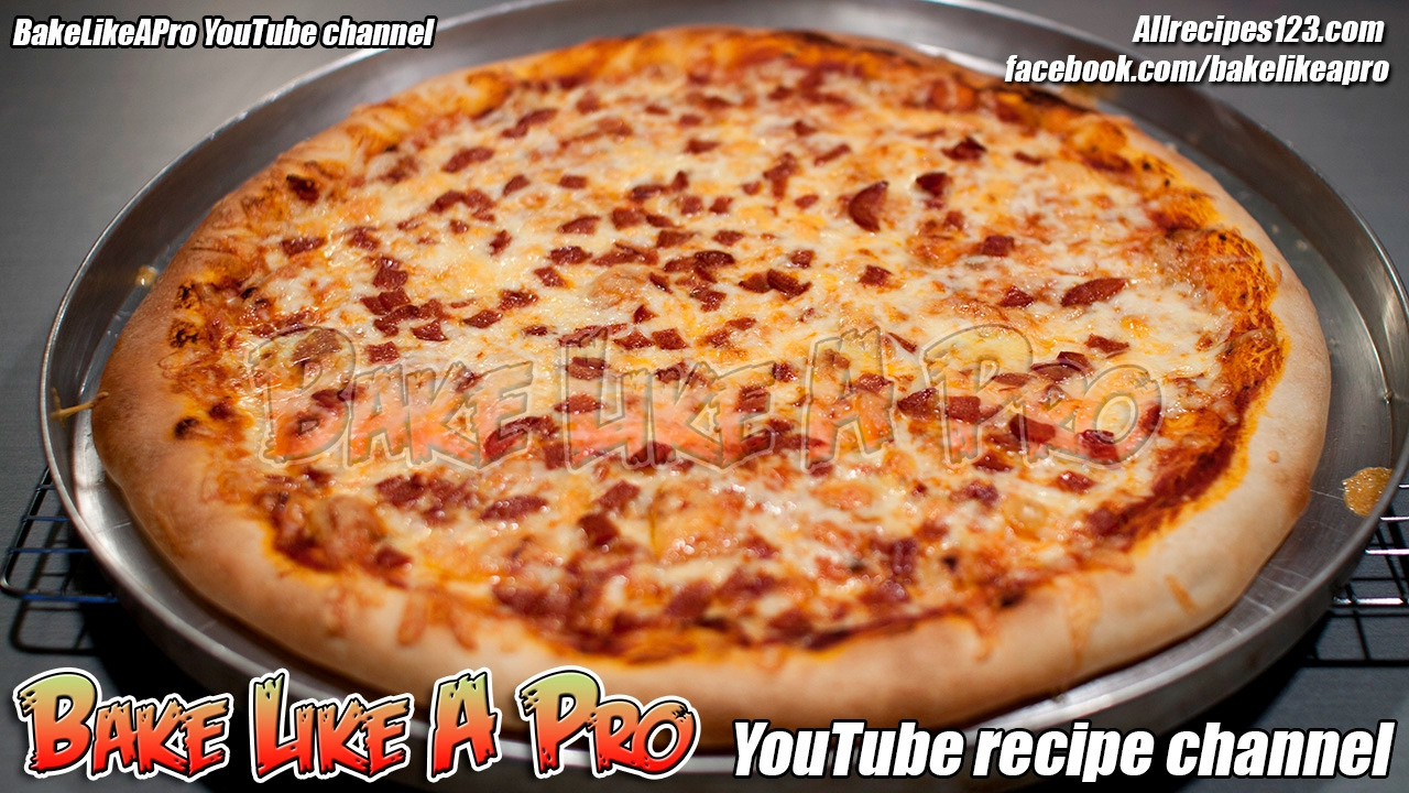 Easy no fail pizza dough recipe and pizza recipe youtube easy no fail pizza dough recipe and pizza recipe sisterspd