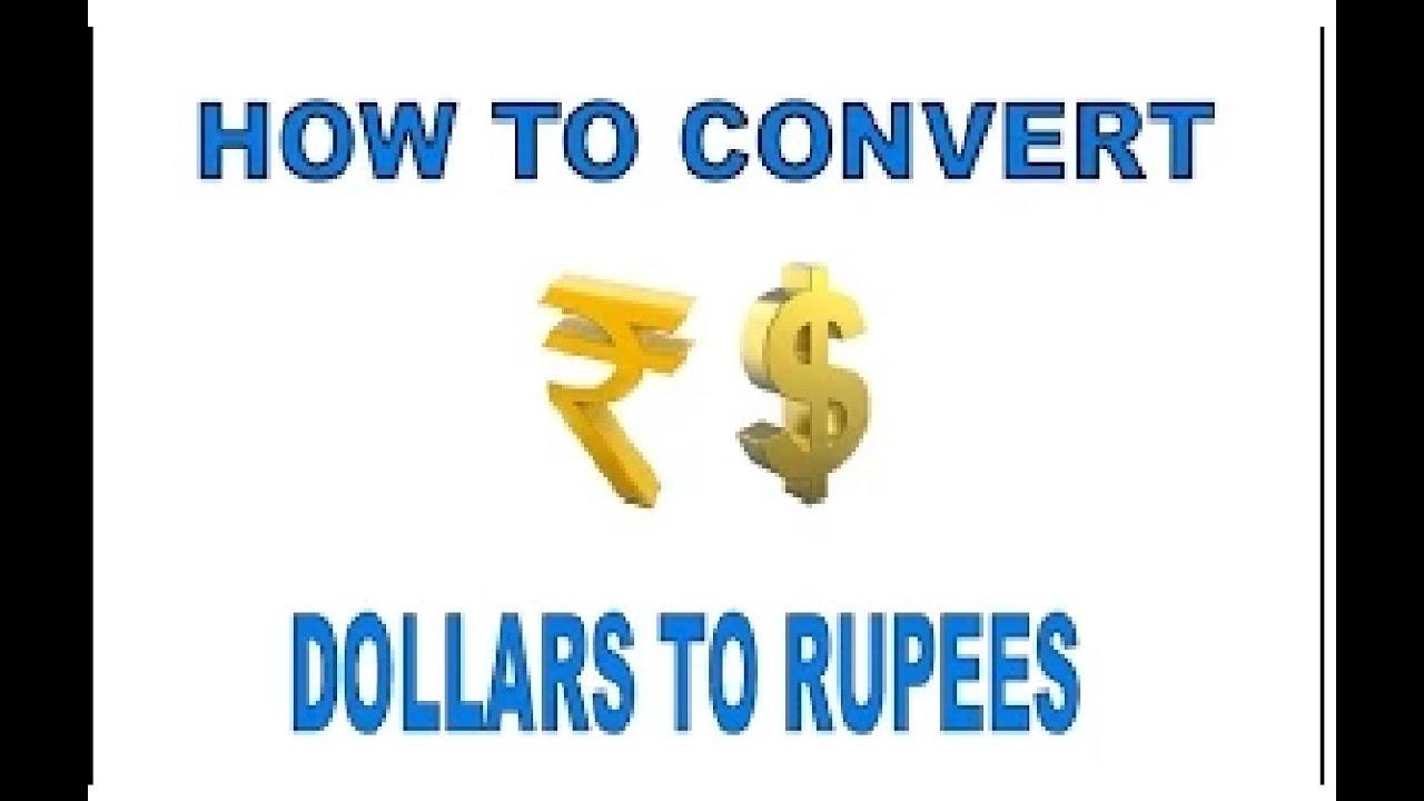 How To Convert Dollars Rus In You Hindi Urdu