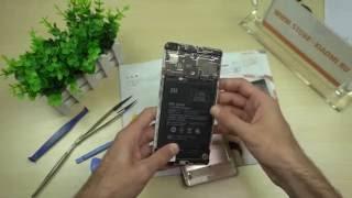 Xiaomi Mi Max, снимаем крышку - смотрим что под ней