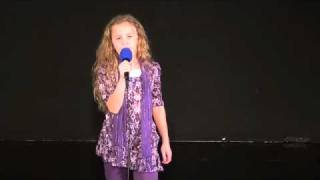 Trinity Cravens singing Will the circle be unbroken (better version)