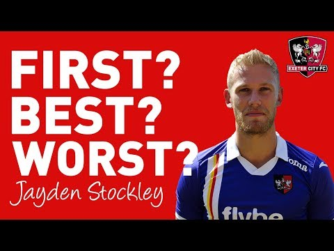 First? Best? Worst? with Jayden Stockley | Exeter City Football Club
