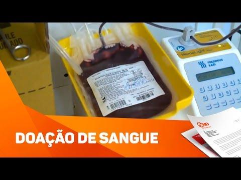Estoque de Sangue  - TV SOROCABA/SBT