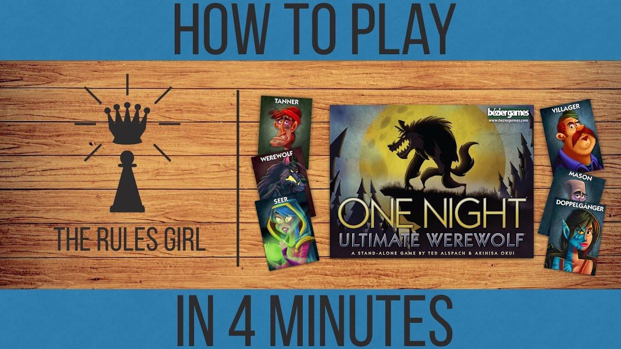 One night ultimate werewolf app rules