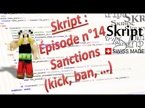 [TUTO] Skript EP14 : Sanctions (kick, ban, mute, ...) [DOWNLOAD]