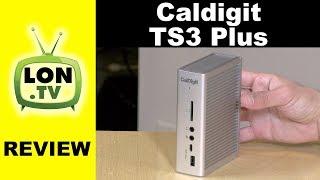 CalDigit TS3 Plus Thunderbolt 3 Dock Review - USB 3.1 Gen 2 Port and 85 Watt Power Delivery
