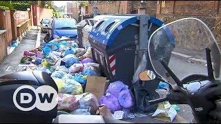 Roma çöplerle boğuşuyor - DW Türkçe