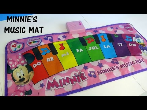 MINNIE'S MUSIC MAT... MINNIE MOUSE DISNEY CHANNEL
