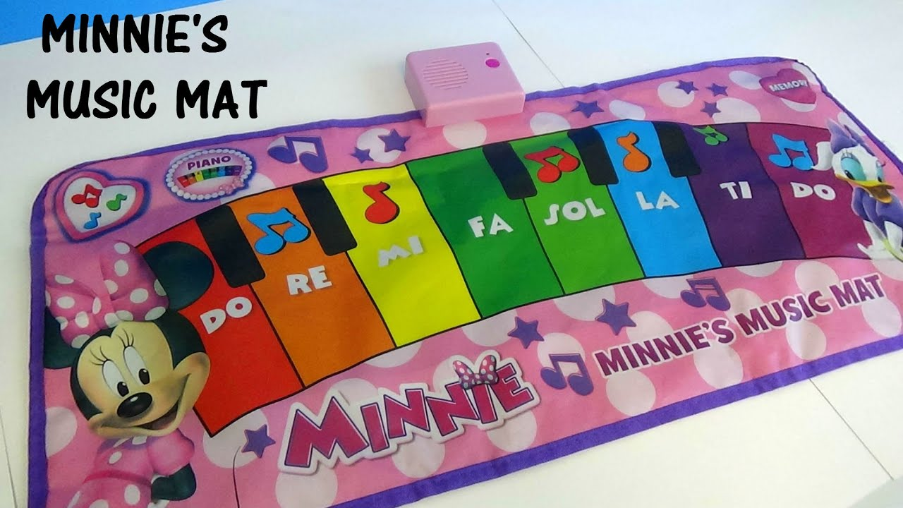 Minnie S Music Mat Minnie Mouse Disney Channel Youtube