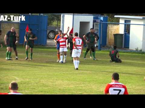 Turkey - Azerbaijan rugby first time