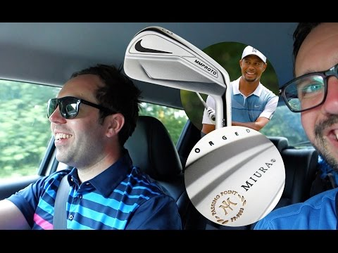 Was Tiger Using Real Nike Clubs???