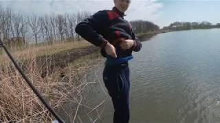 Первая рыбалка на щуку с берега весной 2020 году