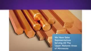 Diversified Bronze Bar Manufacturing in Cambridge, MN