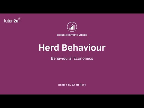 Behavioural Economics - Herd Behaviour