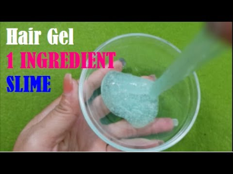 1 ingredient slime with hair gel testing no glue recipes youtube 1 ingredient slime with hair gel testing no glue recipes ccuart Images