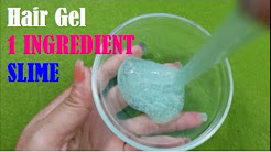 How to make slime with hair gel free music download 1 ingredient slime with hair gel testing no glue recipes ccuart Images