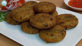 আলু-ভাতের রসুনের টিকিয়া । Rice-Potato-Garlic Tikkia/Cutlet Bangla Recipe by Cooking Channel BD.