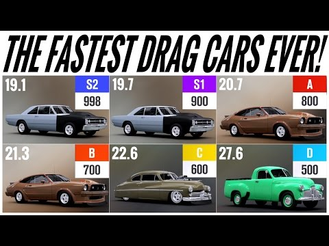 Forza Horizon 3 | The Fastest Drag Cars Ever