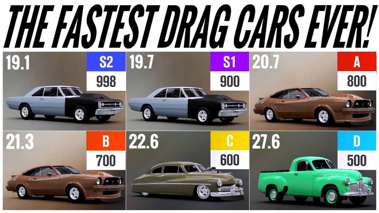 Forza  Best Drag Race Car