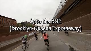 2018 TD Five Boro Bike Tour, NYC May 6th in 4K