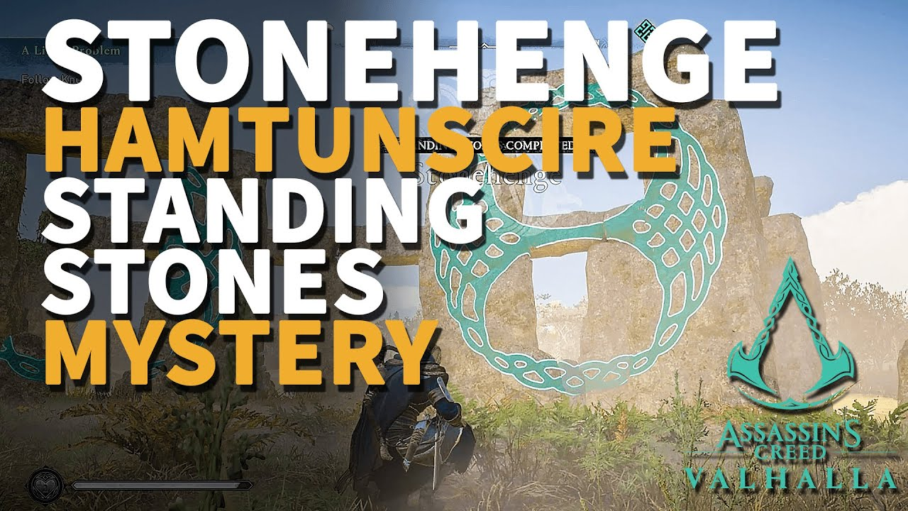 Stonehenge Assassin S Creed Valhalla Hamtunscire Standing Stones Mystery Youtube