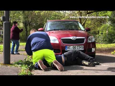 Verkehrskadetten Aachen Praktische Ausbildung Trailer