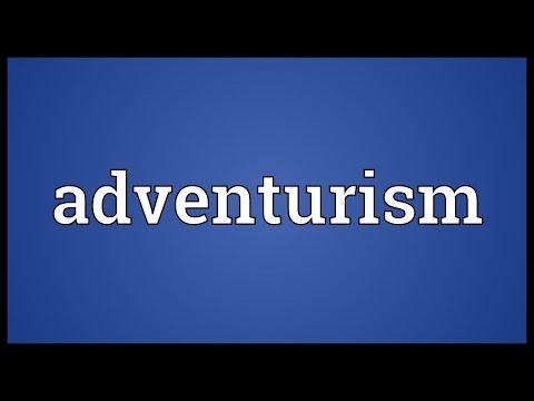 Header of adventurism