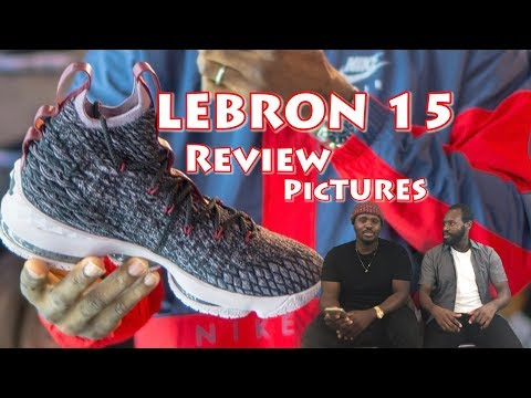 f344cfdd9a7187 LeBron 15 and Dame 4 sneaker pictures and review!