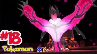 "Let's Play Pokemon XY #18 รังไหมแห่งการทำลายล้าง ""อิเวนทัล""! จับ Yveltal โปเกม่อนในตำนาน!!"