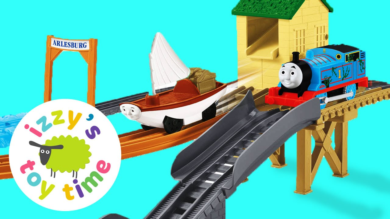 Fisher price thomas amp friends trackmaster treasure chase set new - Thomas And Friends Trackmaster Treasure Chase Playing With Toy Trains For Kids Youtube
