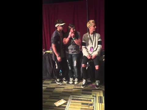 Meeting Jc and Kian at Playlist Live 2015