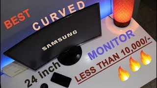 Samsung 24 inch Curved Monitor Unboxing and Review For Gamers and Graphic Designers