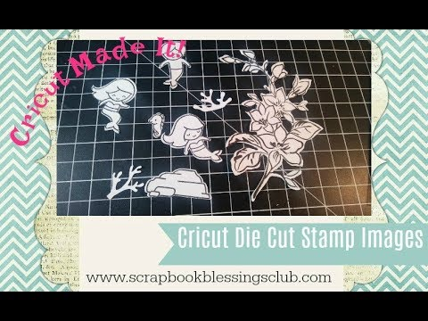 How to Die Cut your Stamps with Cricut and Design Space