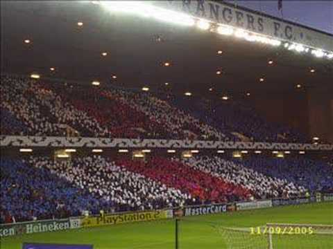 Rangers song. Paisley Road West