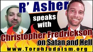 R' Asher speaks with Christopher Fredrickson