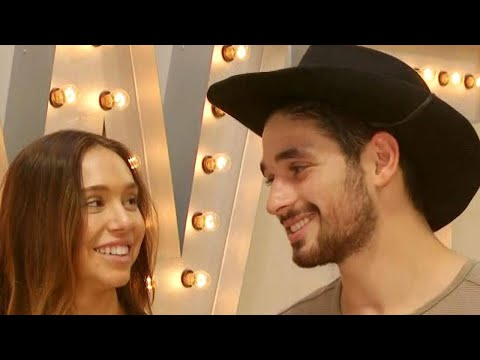 DWTS: Alexis Ren and Alan Bersten Reveal Why They Get Frustrated With Each Other (Exclusive)